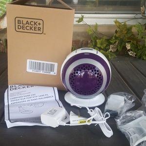 Cordless handheld vacuum orb2